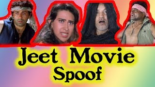 Jeet Movie  Dialogue Spoof # Bollywood V/S Reality # Jeet Spoof # Super Fart Videos # vicky tahasha