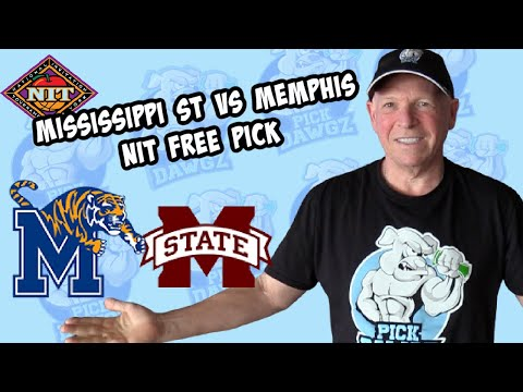Memphis vs Mississippi State 3/28/21 Free College Basketball Pick and Prediction NIT Tournament