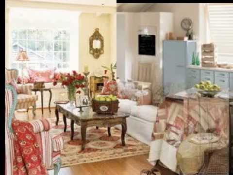Simple Country cottage decorating ideas - YouTube