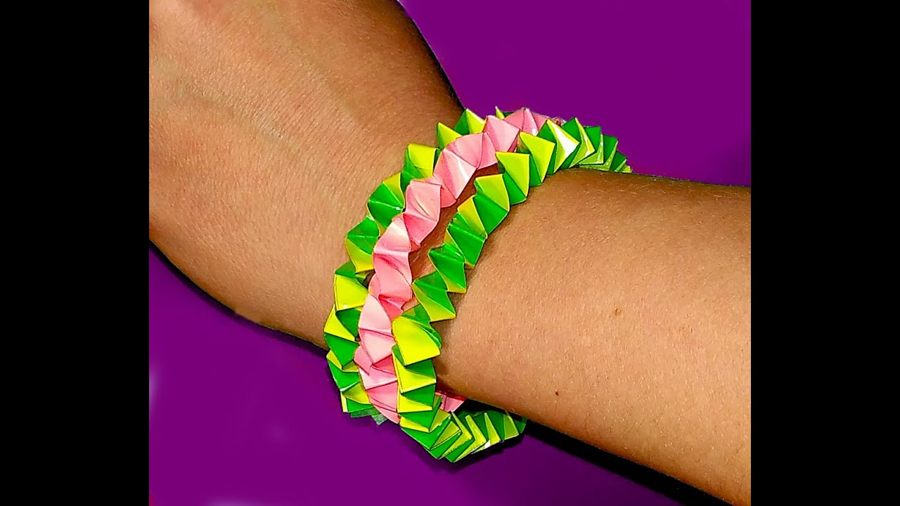 Four ways to weave bracelets from gum