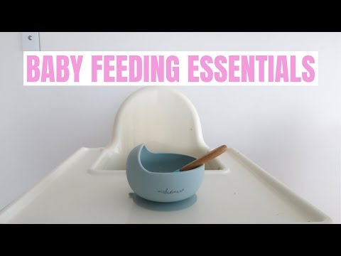 10 Baby Feeding Items You NEED When Starting Solids {Krissy Ropiha}