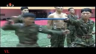 Тренировка спецназа Северной Кореи.