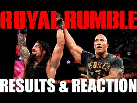 WWE Royal Rumble 2015 REACTION