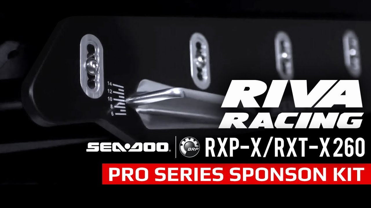 RIVA Racing Sea Doo RXP X RXT X 260 Pro Series Sponson Kit