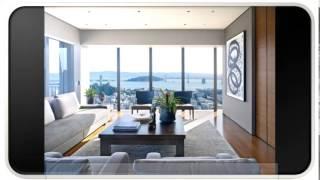 Blue Modern Furniture Living Room Designs