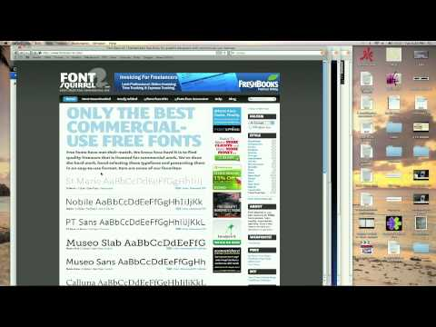 All About Free Fonts for Mac