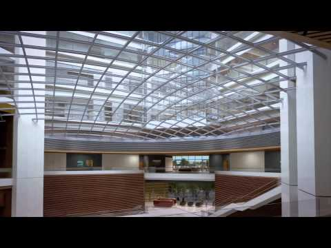 The Future Stanford Hospital Fly Through Animation