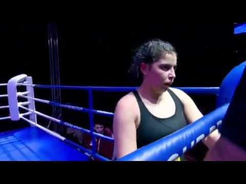 GEORGIA,Tbilisi(55,225 Kg) BOXING 26-01-2020 Super Bantam Nino Kopadze Batumi VS Lili Jumali Kutaisi
