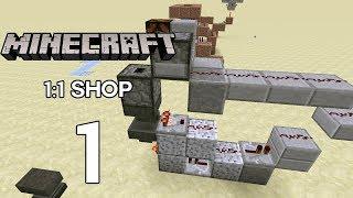1:1 Shopsystem / Itemsortiermaschiene - Minecraft Redstone #1