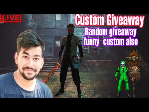 FREE FIRE Live next level enjoyment fun custom giveaway shoutout yourself on live join YT team