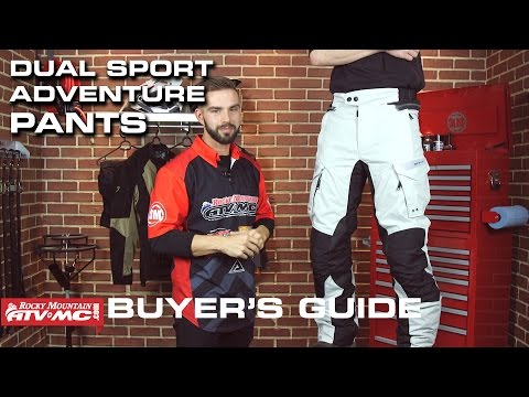 Best ADV/Dual Sport Motorcycle Pants | 2016