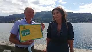 Bandiera Verde: presidente Ecomuseo e direttrice generale Legambiente Piemonte