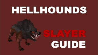 Hellhounds Slayer Task Guide - 270K Combat XP per hour, Fast and Easy Task [Runescape 2013]