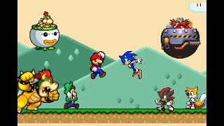 Super Mario vs Sonic the Hedgehog thumbnail