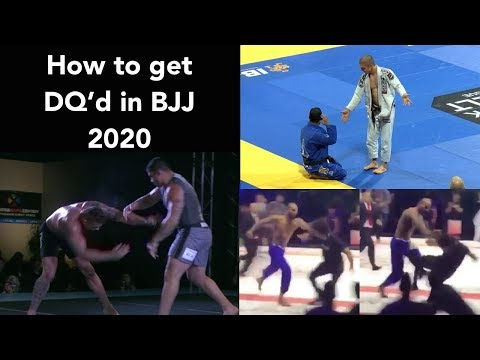 How To Get DQ'd In BJJ 2020 - Punches, Slaps, Slams & Arena Brawls [HELLO JAPAN]