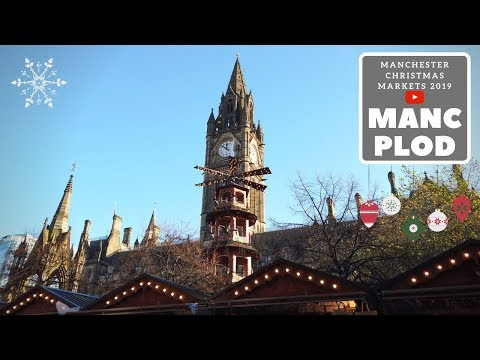 Manchester Christmas Markets 2019 -  More Albert Square [4K60fps]