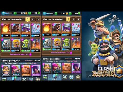 Clash royale deck pour monter de l 39 ar ne 4 l 39 ar ne 6 for Deck arene 6 miroir
