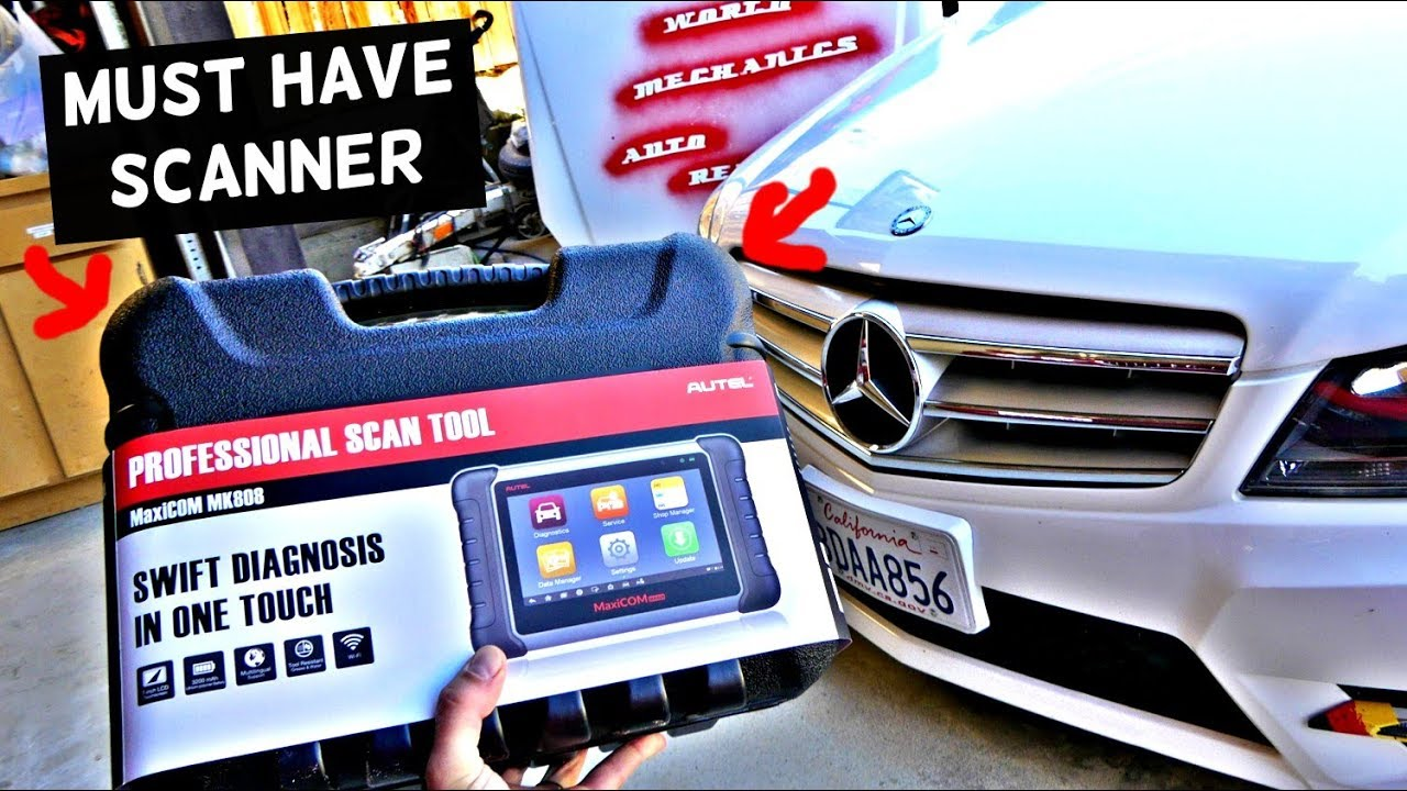 IS THIS THE BEST DIAGNOSTICS SCANNER  MaxiCOM MK808 REVIEW