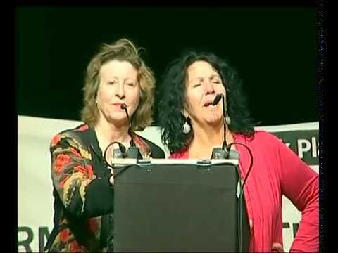 Stopp Formosa Plastics | Schmährede (1/2) | Diane Wilson | Black Planet Award | ethecon Tagung 2009