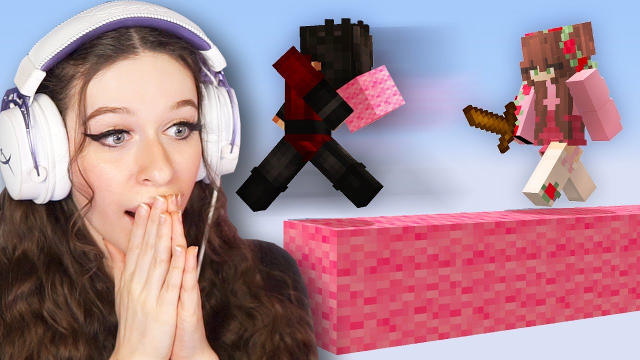 I Carried Hannahxxrose in Bedwars