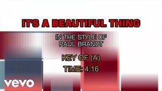 Paul Brandt - It's A Beautiful Thing (Karaoke)