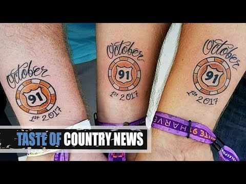 Route 91 survivor tattoos are heartbreaking perfect for Tattoo stuff for sale