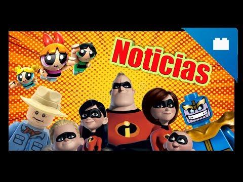 NOTICIAS: Los Increíbles 2 - Jurassic Park - Las Chicas Super Poderosas - Nuevo Brickheadz.