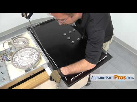 How To: GE Glass Cooktop Assembly WB62T10152