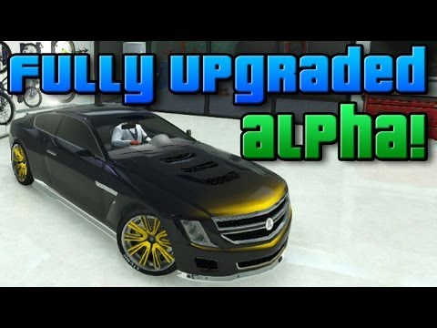 "GTA Online: Brand New DLC Sports Car! - Fully Upgraded ""Albany Alpha"" (GTA V Business DLC)"