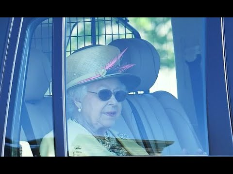 The Queen leaves Windsor Castle for church day after Royal wedding - 247 News