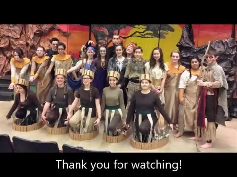 """Briggs Middle School's Production of """"Disney's The Lion King Jr."""""""