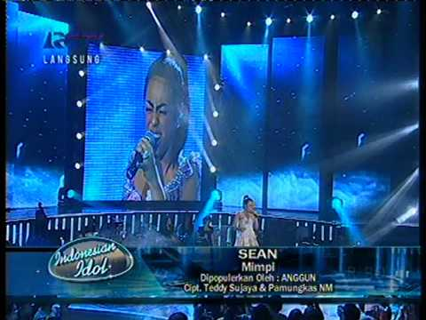 sean - mimpi ( top 5 indonesian idol )