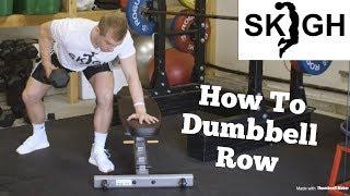 Dumbbell Row Technique [SKIGH Training EP. 5]