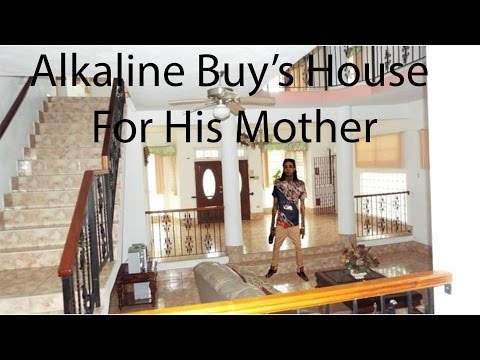 Alkaline Buy's House For His Mother - YouTube