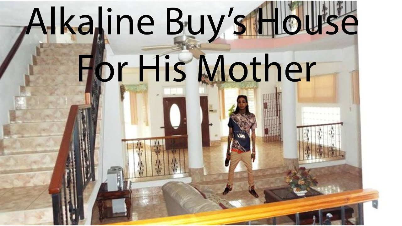 Alkaline Buy's House For His Mother