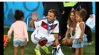 Ann Kathrin Brömmel with Mario Götze Celebrating @ World Cup Final 2014