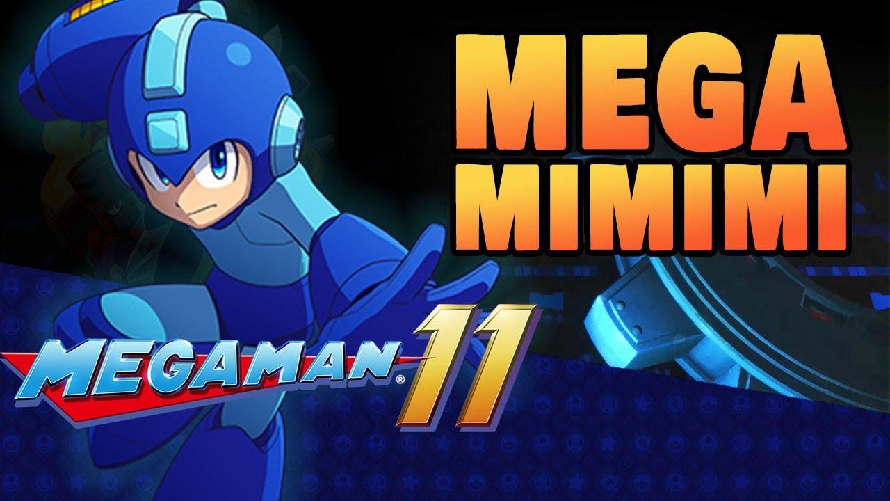 Mega Mimimi - Compilado das Lives de Mega Man 11