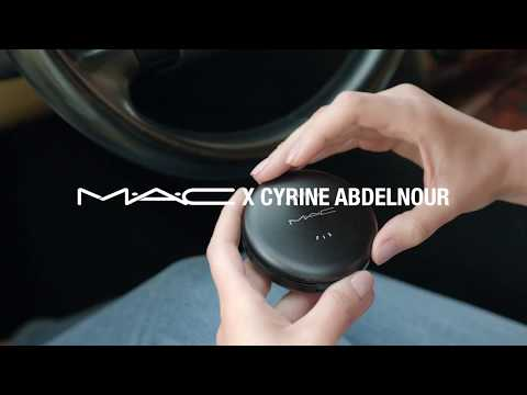 Cyrine Abdel Nour – MAC/ Rose Gilded Glam Collection/MACXCYRINEABDELNOUR  – سيرين عبد النور – ماك-