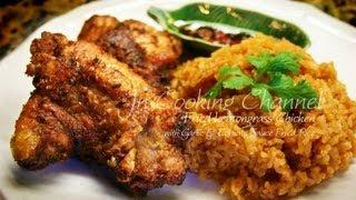 Jn  Fried Lemongrass Chicken With Garlic Tomato Sauce Fried Rice