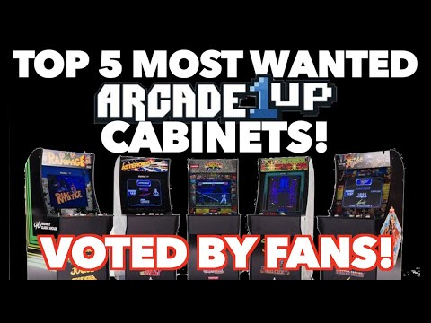 The 5 Most Wanted Unreleased Arcade1Up Cabinets! | Fan Voted! from Killer Arcade Games