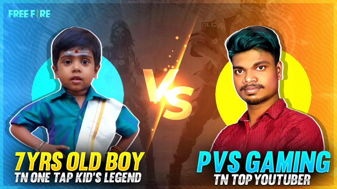 ?Hari Scar Ahh மாறிய 7yrs Old Kid's Naveen? vs PVS GAMING? Funny One Tap Clash Squad Challenge
