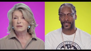 snoop dogg martha stewart announce martha and snoops dinner party