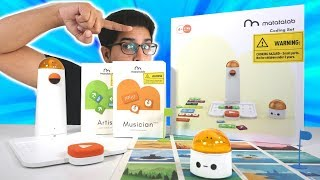 UNBOXING & LETS PLAY! - Matatalab Coding Pro Set! - STEM CODING TO PLAY! (FULL REVIEW)
