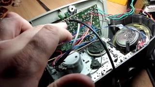 Старый магнитофон. Часть 2. Подаем сигнал с мп3-плеера.