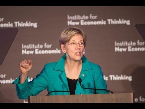 Senator Elizabeth Warren: Finance & Society