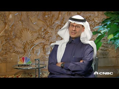 Full interview: Saudi Arabia's Energy Minister Prince Abdula