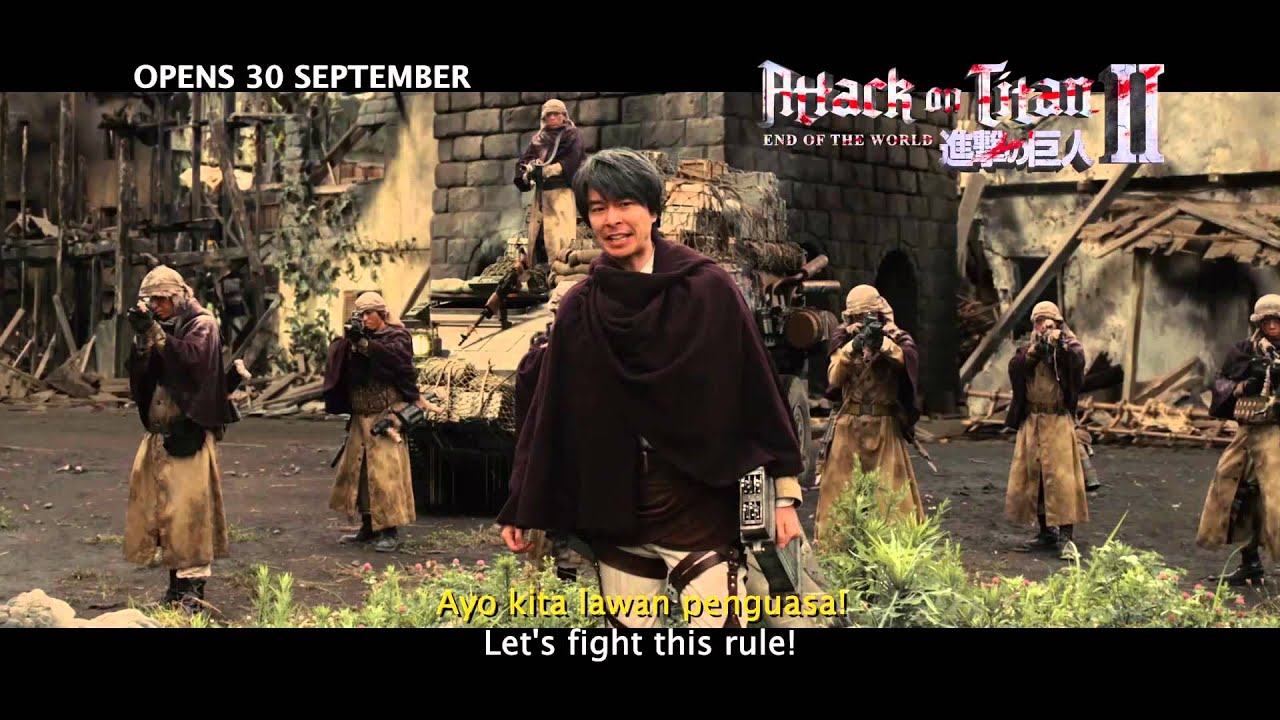 [UPDATED] Attack on Titan Part 2 [Indonesia Subtitle]