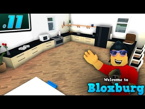 KITCHEN REMODEL in Welcome to BloxBurg!! - Ep. 11 | Roblox