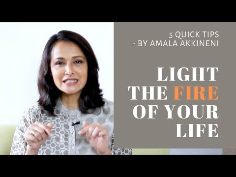 ACFM Skill Series - Light The Fire Of Your Life By Amala Akkineni