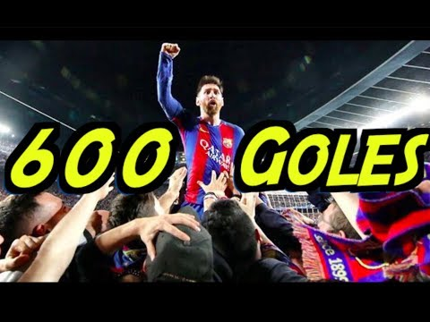 Lo que No Sabías de los 600 Goles de Messi